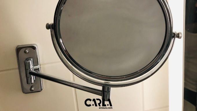 How to Frame a Bathroom Mirror with Clips