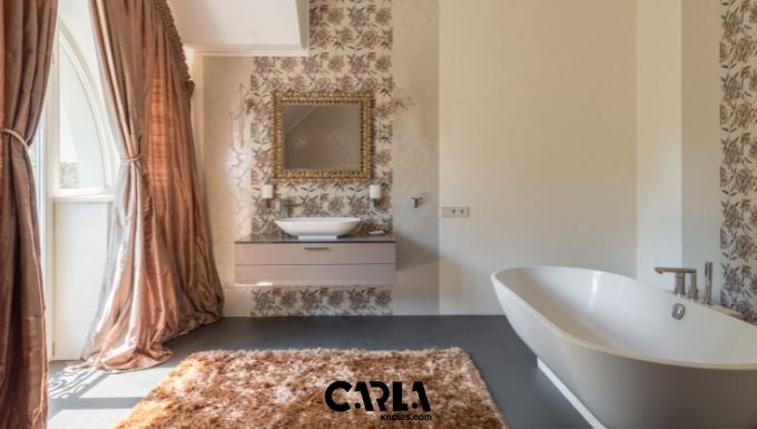 How to Wash Bathroom Rugs with Rubber Backing