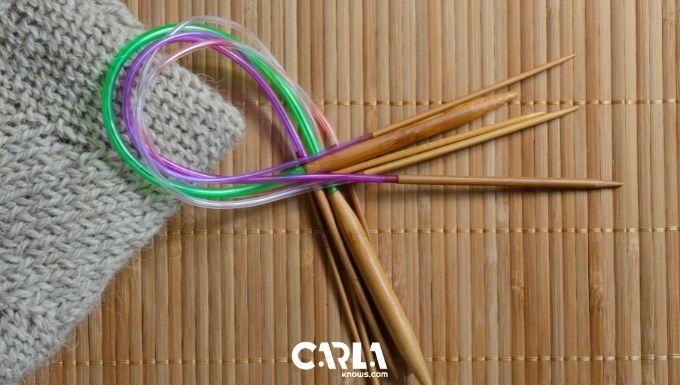 Reshape Those Curled Up Circular Knitting Needles